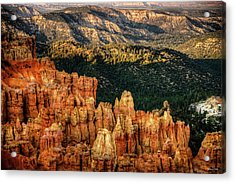 Acrylic Print featuring the photograph Sunsets In The Canyon by Rebecca Hiatt