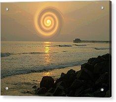 Sunsetswirl Acrylic Print