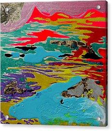 Sunsetting #4 Acrylic Print by Joseph Demaree