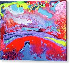 Sunsetting #8 Acrylic Print by Joseph Demaree