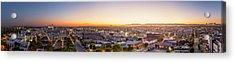 Glowing Sunset Culver City Acrylic Print