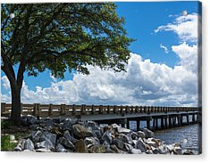 Sunshine And Clouds Acrylic Print by Gregg Southard