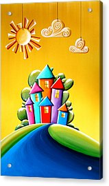 Sunshine Day Acrylic Print by Cindy Thornton