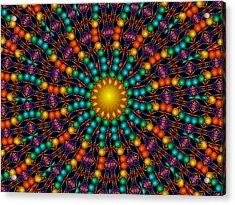 Acrylic Print featuring the digital art Sunshine Daydream by Robert Orinski