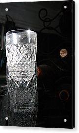 Sunshine In My Glass Acrylic Print by Jonathan Kotinek