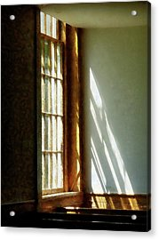 Sunshine Streaming Through Window Acrylic Print by Susan Savad