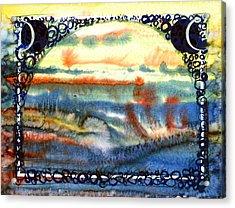 Sunspot Acrylic Print by Tom Hefko