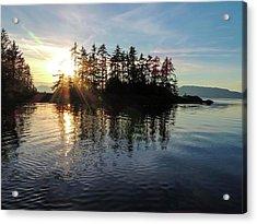Sunstar Announcing Dusk Acrylic Print