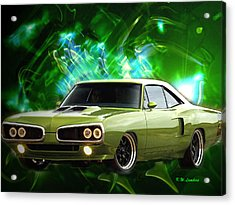 Super Bee Acrylic Print by Kenneth Lambert