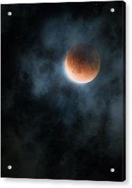 Super Blood Moon 2015 Acrylic Print by Bill Wakeley