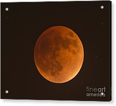 Super Blood Moon Acrylic Print