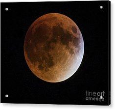 Super Blood Moon Lunar Eclipses Acrylic Print