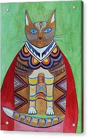 Super Cat Acrylic Print