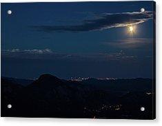 Super Moon Eclipse Acrylic Print