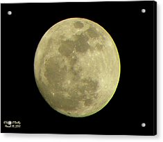 Super Moon March 19 2011 Acrylic Print