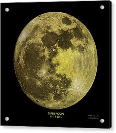 Super Moon Acrylic Print