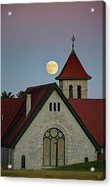 Super Moon Rising Acrylic Print
