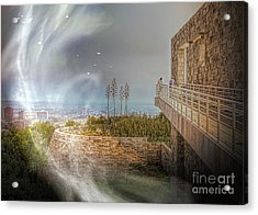 Super Natural Aliens Are Coming Getty Museum  Acrylic Print