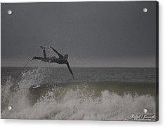 Acrylic Print featuring the photograph Super Surfing by Robert Banach