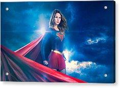 Supergirl Season 2 Acrylic Print