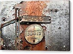 Acrylic Print featuring the photograph Superheater by Kristin Elmquist