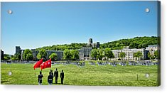 Superintendent's Review Wide Angle Acrylic Print