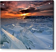 Superior Glass Acrylic Print by Gregory Israelson