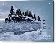 Superior Icicle Frame Acrylic Print