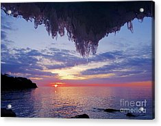 Superior March Sunrise Acrylic Print by Sandra Updyke