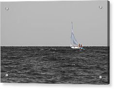 Acrylic Print featuring the photograph Superior Sailing by Dylan Punke