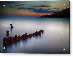 Superior Shores Acrylic Print