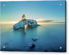 Superior Sunrise // North Shore, Lake Superior  Acrylic Print