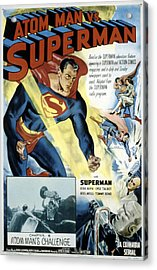 Superman, Serial, Kirk Alyn, Chapter 6 Acrylic Print by Everett