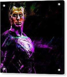 #superman #supermanisback Acrylic Print