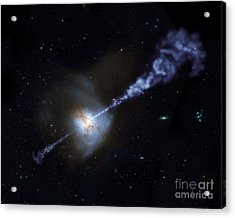 Supermassive Black Hole Acrylic Print by American School