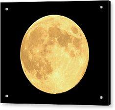 Supermoon Full Moon Acrylic Print by Kyle West