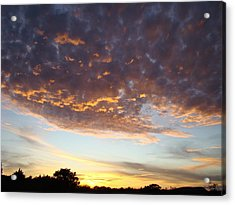 Supernatural Sunset Two Acrylic Print by Ana Villaronga