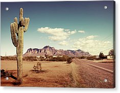 Acrylic Print featuring the photograph Superstition by Joseph Westrupp