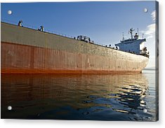 Supertanker Acrylic Print by Tom Dowd