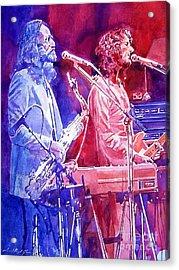 Supertramp Acrylic Print by David Lloyd Glover
