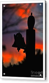 Supper Bell At Sunset Acrylic Print