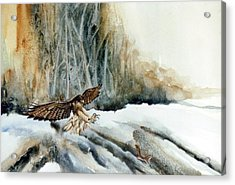 Supper  Maybe Acrylic Print by Lynne Parker