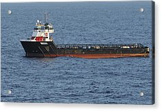 Acrylic Print featuring the photograph Supply Vessel Claire Candies by Bradford Martin