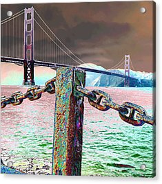 Supporting Post Acrylic Print