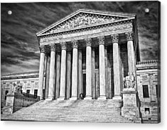 Supreme Court Building 2 Acrylic Print by Val Black Russian Tourchin