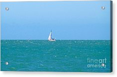 Surf And Sail The Sea Acrylic Print