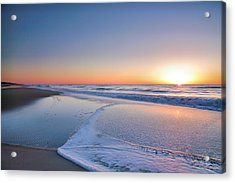 Surf And Sand IIi Acrylic Print by Steven Ainsworth