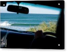 surf at Narracoopa, King Island, Tasmania, Acrylic Print