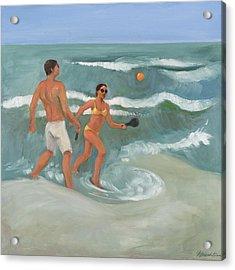Surf Ball Acrylic Print