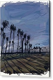 Surf City Acrylic Print by Russell Pierce